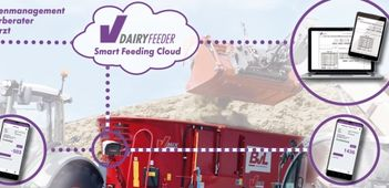 BvL V-DAIRY Feeder TMR: New concept with app