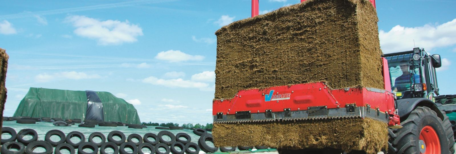 V-LOAD Cutter silage block cutter