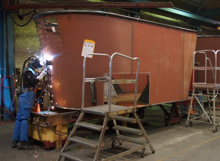 Production - container welding