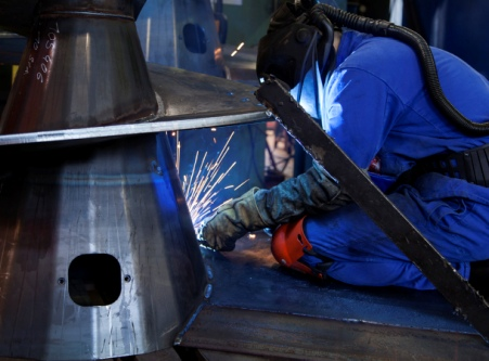 Production - auger welding