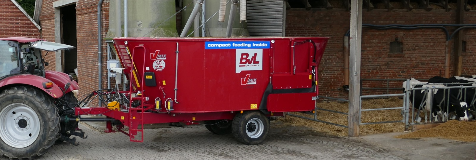 Compact Feeding Plus Package available for BvL mixer wagons